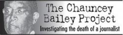 Chauncey Bailey logo