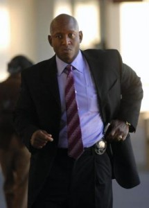 Oakland police officer Derwin Longmire
